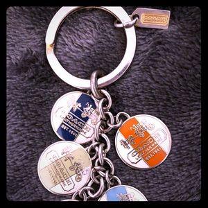 Coach multicolor Keychain